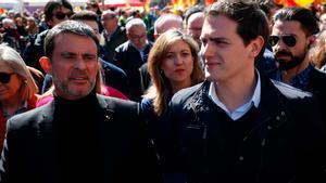 Ciutadans trenca amb Valls pel seu recolzament a Colau