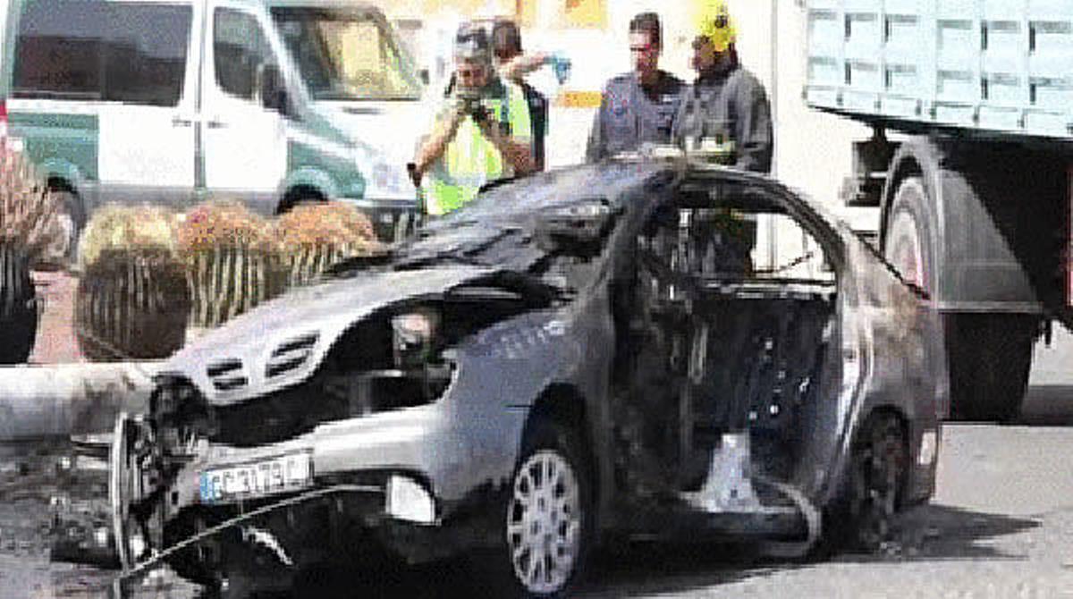 El municipio grancanario de Santa Lucía de Tirajana, conmocionado por la muerte de un hombre y su hijo en un accidente que ha podido ser provocado.