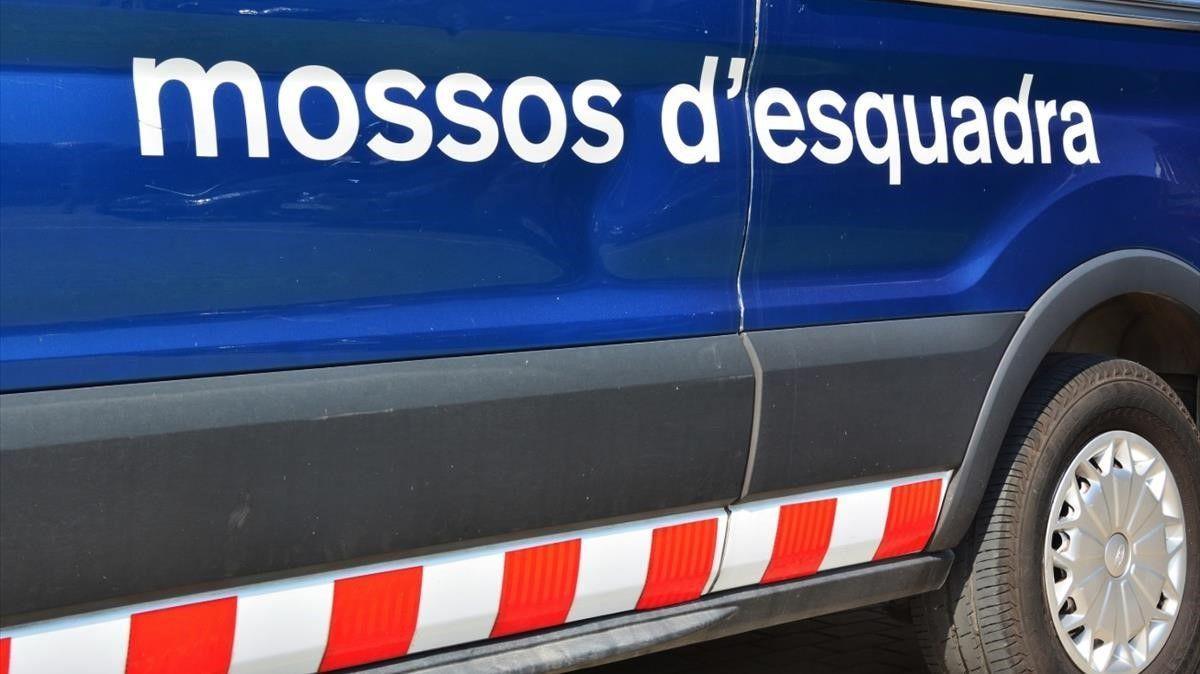 Imagen de archivo de un vehículo de Mossos d'Esquadra.