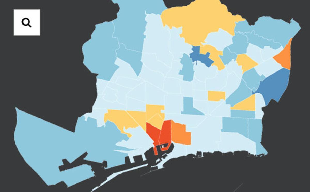 Així avança la vacunació de la Covid al vostre barri de Barcelona | Mapa