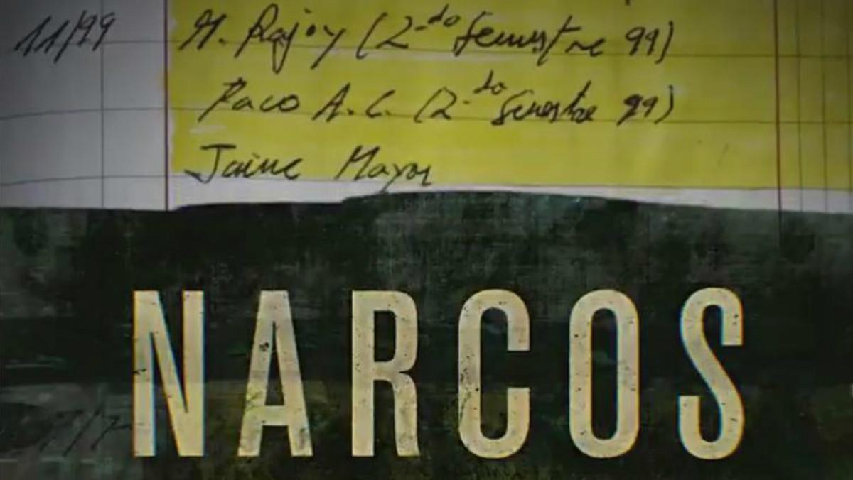 Imagen final del 'spot' de Netflix en la que los papeles de Bárcenas se fusionan con la cabecera de la serie.