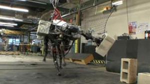' BigDog' es el robot creado y diseñado por la empresa norteamericana 'Boston Dynamics'.