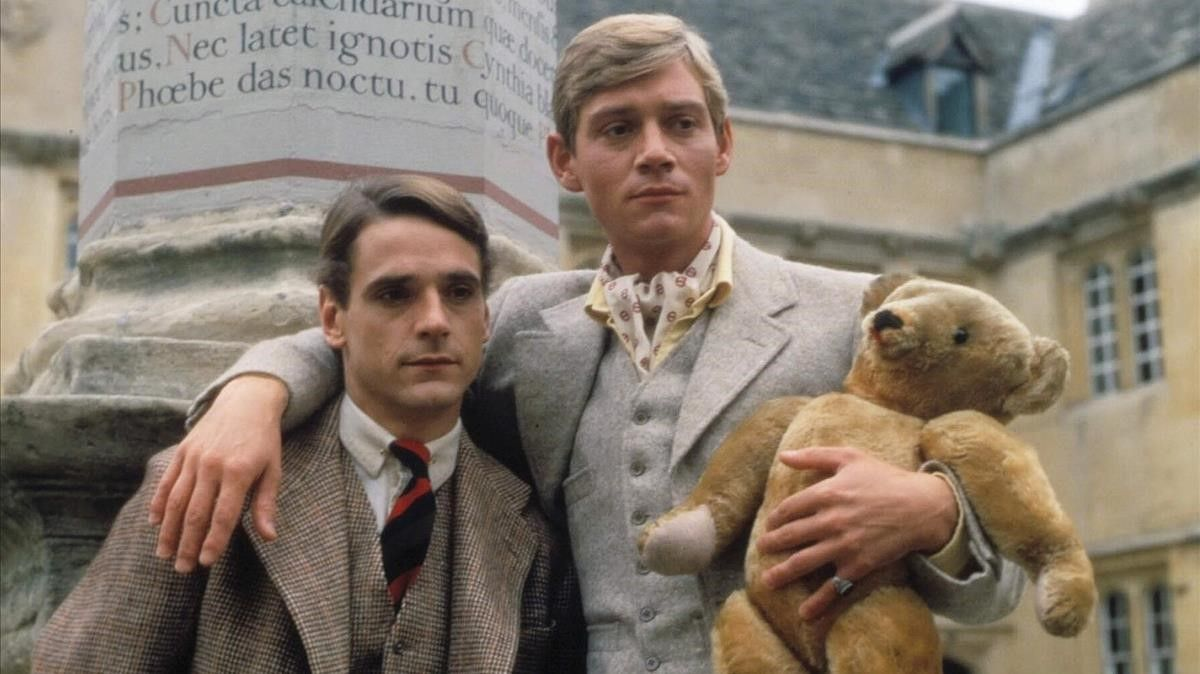Jeremy Irons y Anthony Andrews, en 'Retorno a Brideshead'.