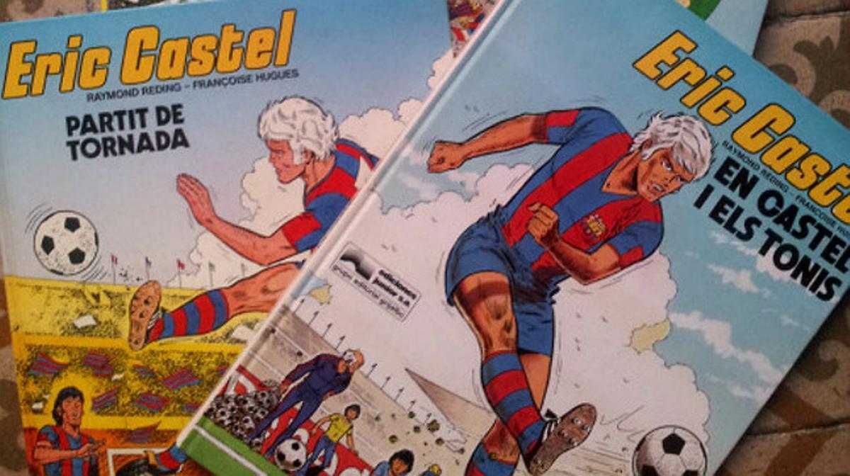 Portadas del famoso cómic de Eric Castel.