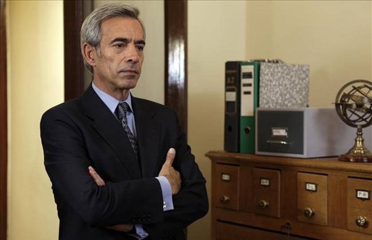 El actor Imanol Arias, en una imagen de la serie de TVE-1 'Cuéntame cómo pasó'.