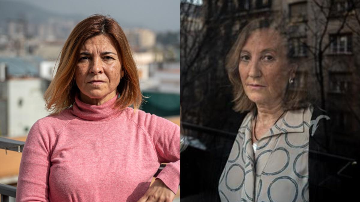 Sílvia Puigdemasa y Conxita Corredera, ambas con covid persistente.