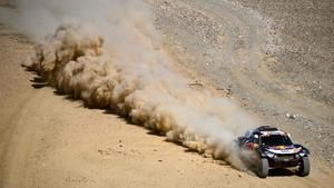 Carlos Sainz, en acción.