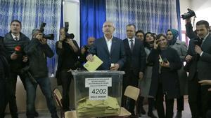 Kemal Kilicdaroglu, líder del principal partido de la oposición en Turquía, el CHP.