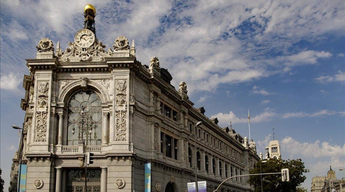 Edificio del Banco de España, en Madrid.