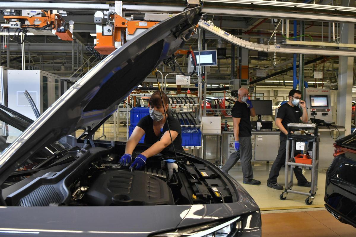 Fábrica de SEAT en Martorell.
