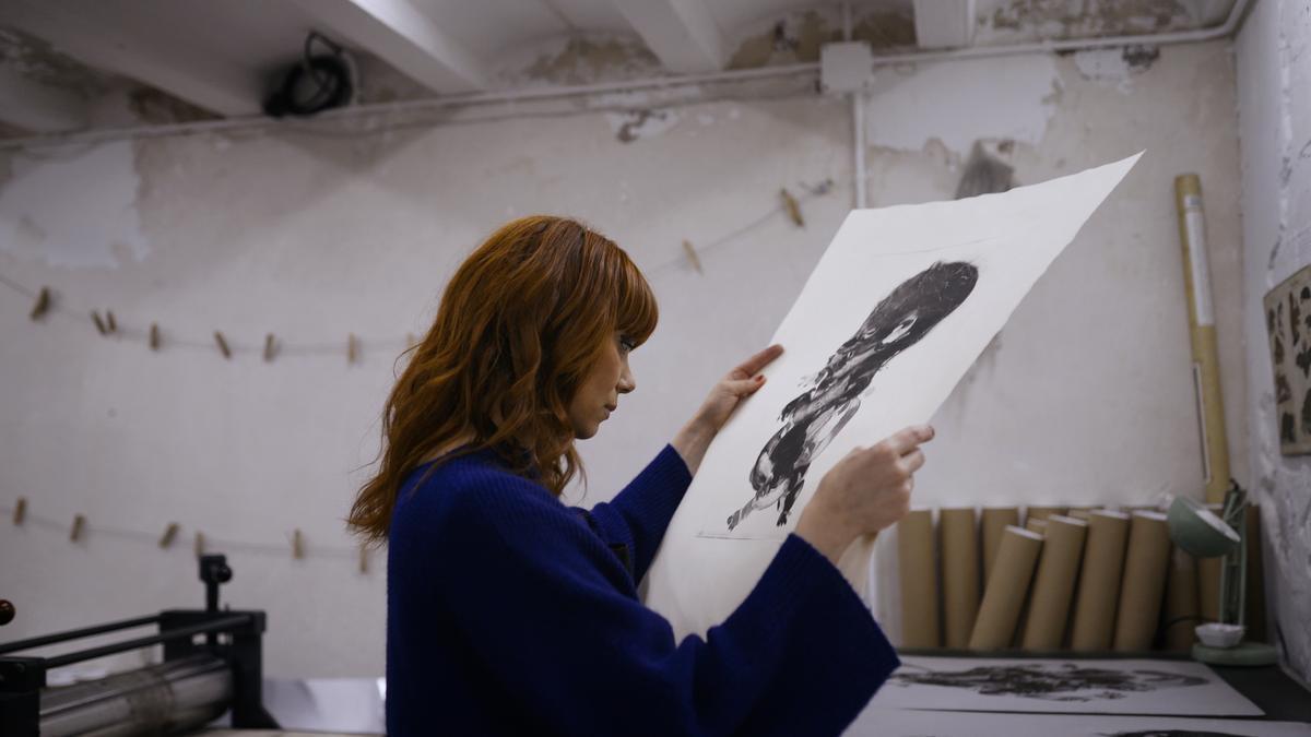 Paula Bonet, artista y escritora valenciana