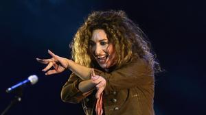 Estrella Morente, en un concierto en Sevilla.
