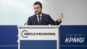 Aragonès no asistirá el lunes al acto de Sánchez en Barcelona