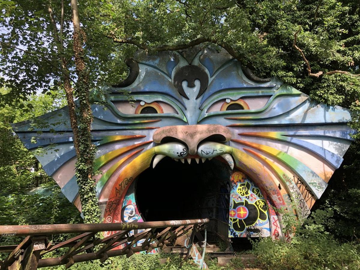 Spreepark, el parc d'atraccions postapocalíptic