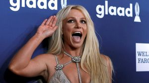 Britney Spears, en abril del año pasado.