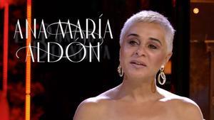 Ana María Aldón en 'Sábado Deluxe'.