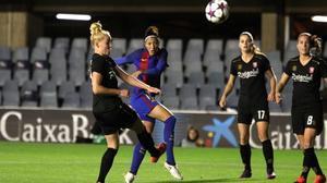 Un golazo de Jenni Hermoso da el triunfo al Barça en la Champions