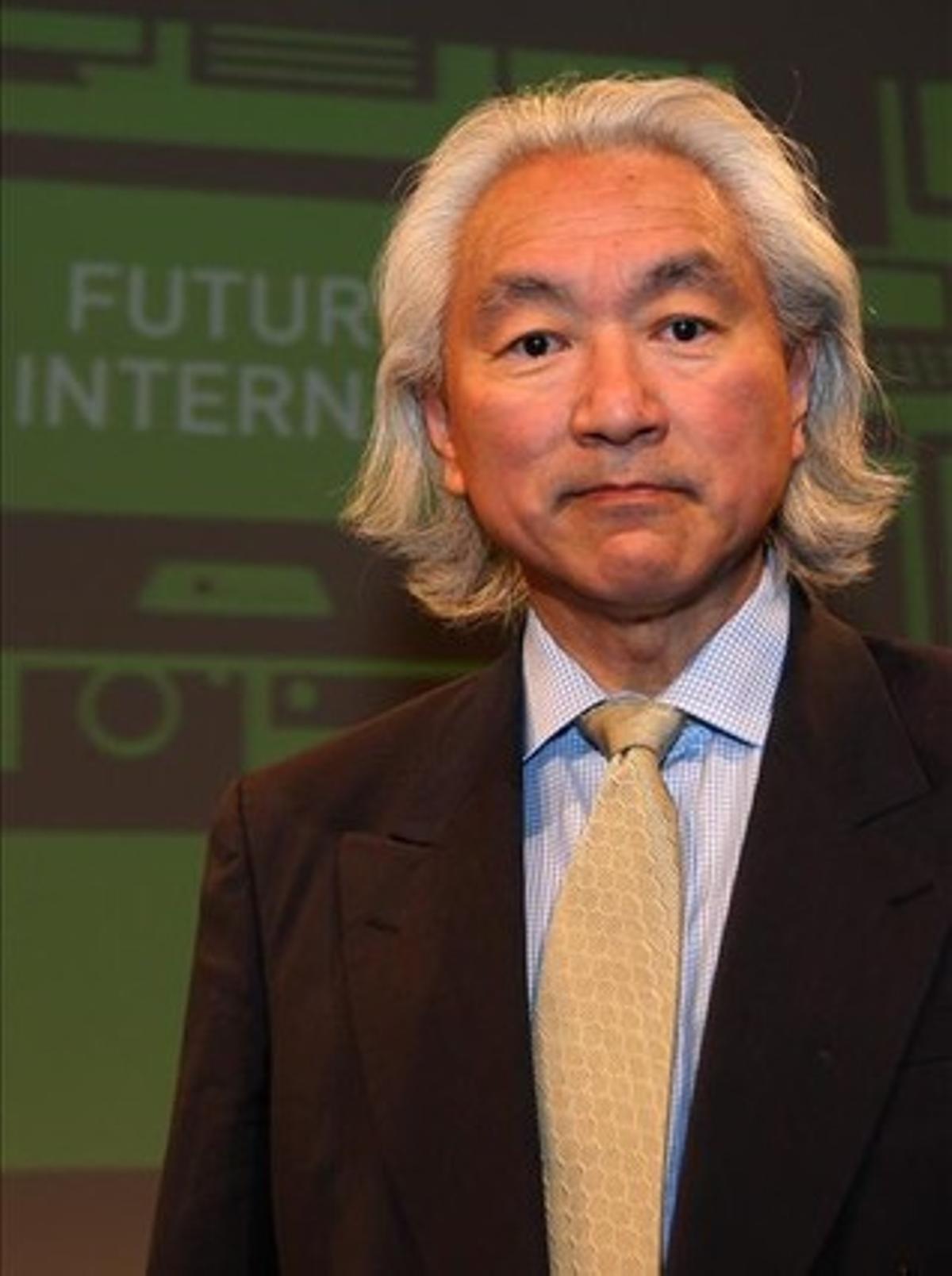 El físico y divulgador científico estadounidense Michio Kaku.