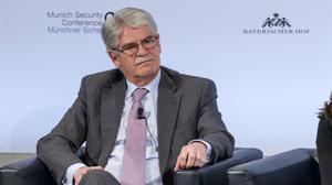 El ministro de Exteriores, Alfonso Dastis, el pasado día 16 en Múnich.