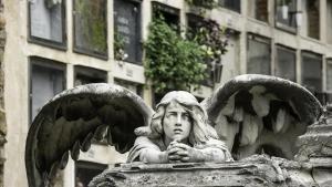 Panteón Buhigas en el cementerio de Montjuïc.