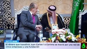 Imagen de Juan Carlos I, en 'El Intermedio'.