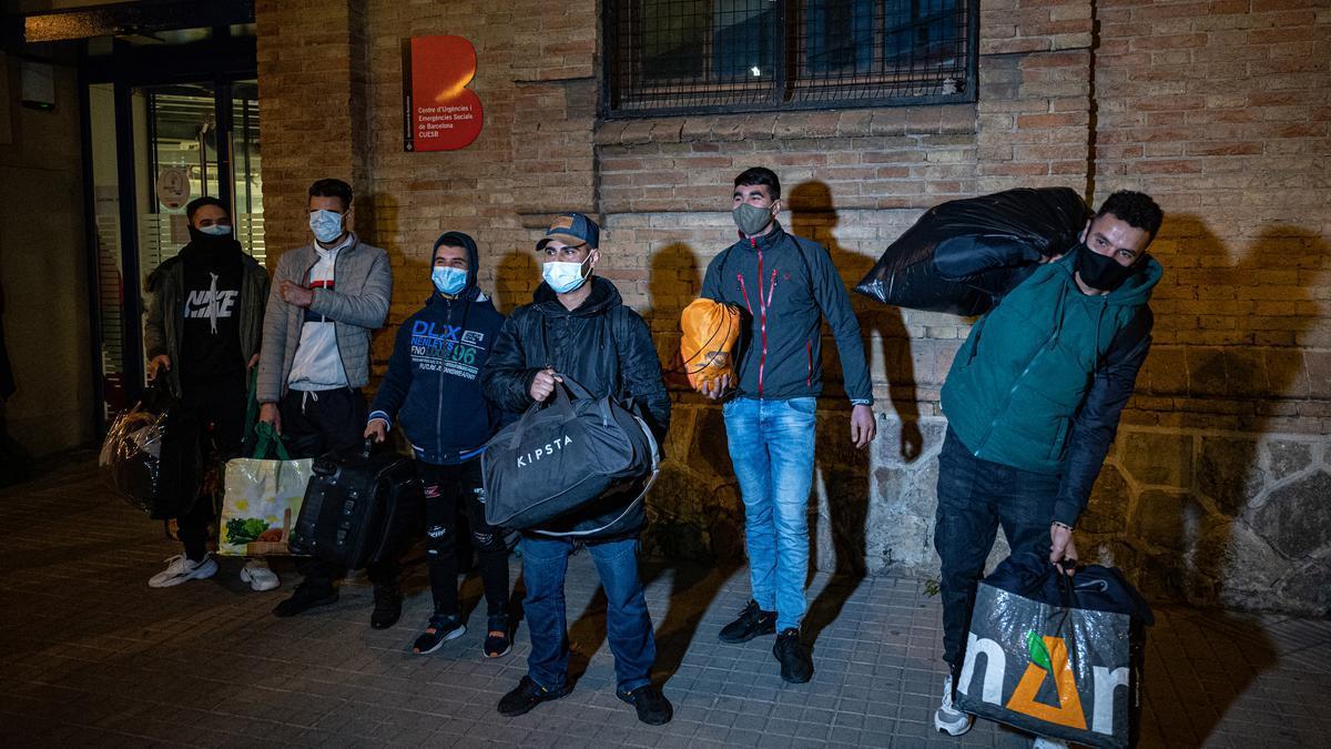 Canovelles deja en la calle a los 'sintecho' venidos de BCN