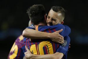 """Jordi Alba: """"En algunes zones d'Espanya es dona poc valor al que fa el Barça"""""""