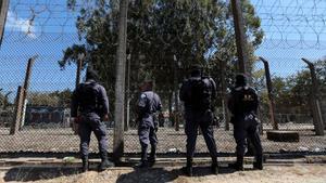 Una prisión de Guatemala.