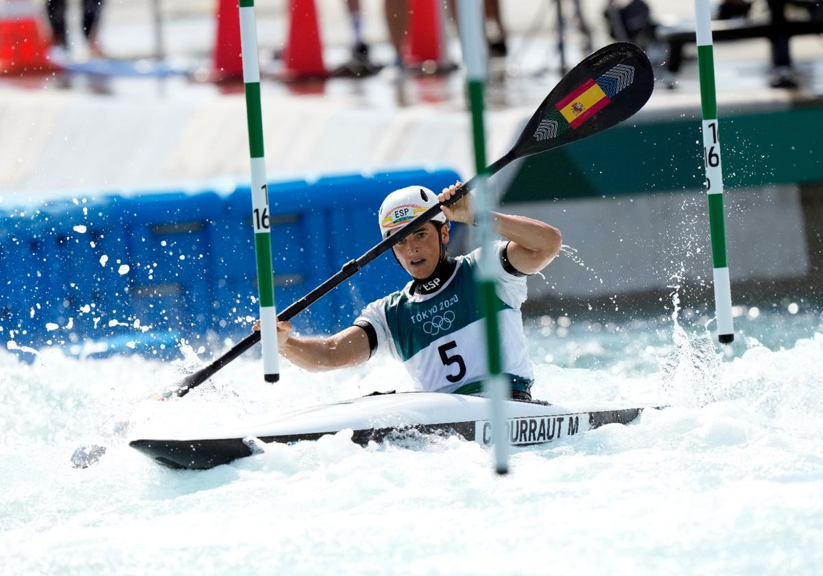 Maialen Chourraut, camino de la medalla de plata.