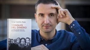 El periodista Sergi Castillo, autor del libro 'Yonquis del dinero. Las diez grandes historias de la corrupción valenciana'.