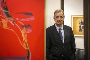 El filósofo Alessandro Ferrara, hace unos días, en Barcelona.