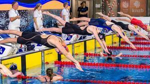 Entrenamientos en la Amsterdam Swim Cup.