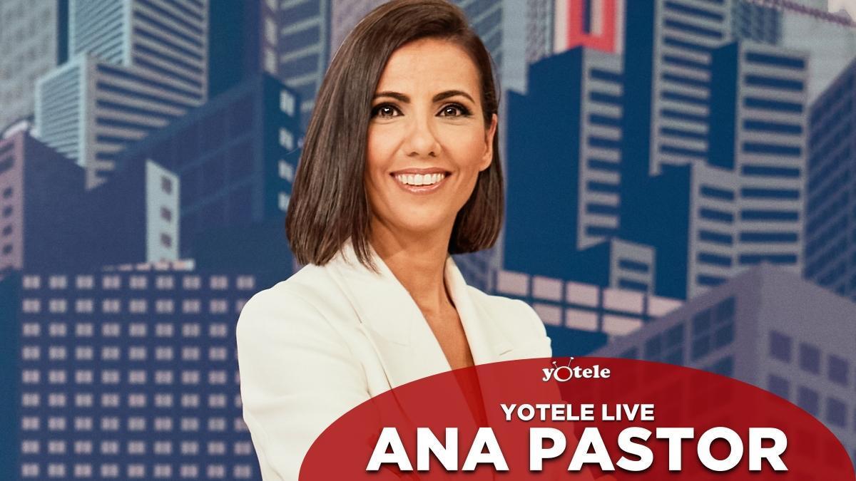 Ana Pastor en el nuevo plató de 'El objetivo'