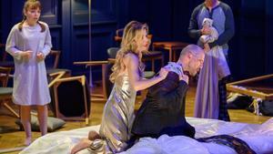 Imagen del estreno de 'Lessons in love and violence' en el Liceu