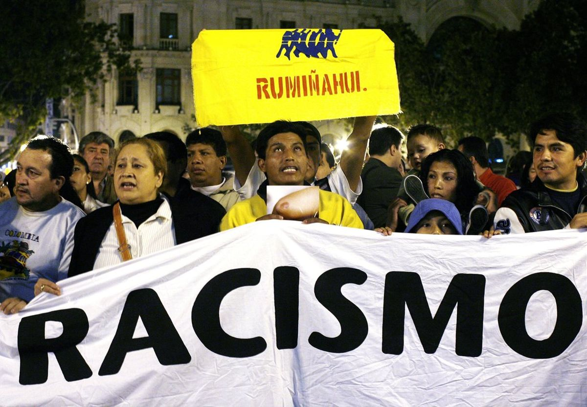Estos discursos de odio racistas se han dirigido principalmente a migrantes, sin importar su estatus de residencia.