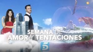 Telecinco anuncia 'La semana del amor' con el estreno de 'La isla de las tentaciones 3'