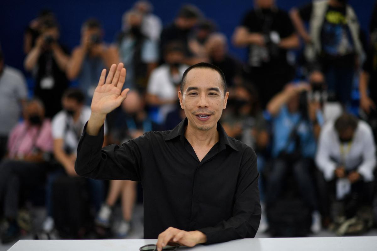 Apichatpong Weerasethakul, durante el 'photocall' en el festival de Cannes.
