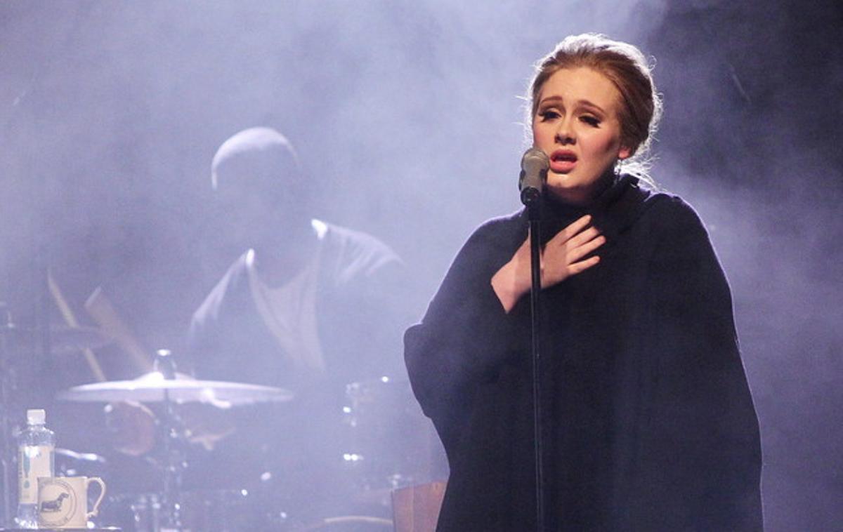 Adele, en un recital en Hamburgo, el pasado marzo.