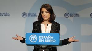"""Andrea Levy acusa Puigdemont d'utilitzar la cimera del 23-D per """"agitar el carrer"""""""