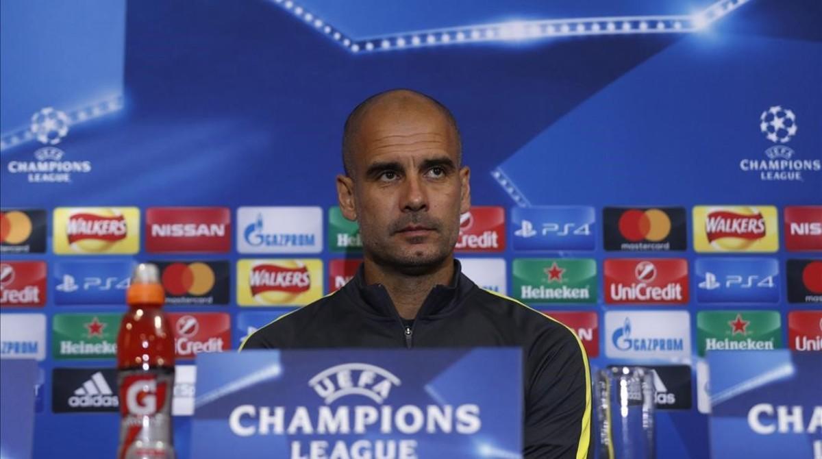 """Guardiola: """"Fue difícil empezar las partes con un gol en contra"""""""