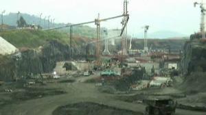 Sacyr paraliza las obras de ampliación del Canal de Panamá