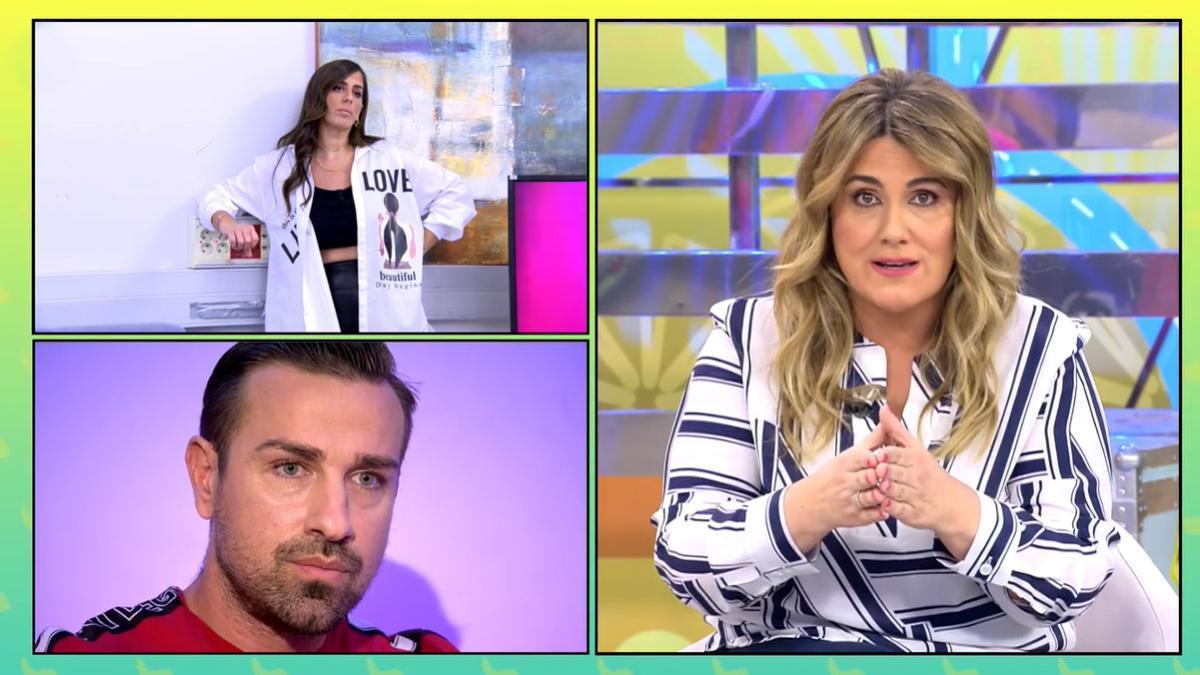 """Carlota Corredera se enfrenta a Rafa Mora: """"No nos hagas pasar por tontos"""""""