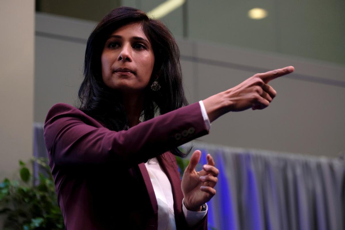 Gita Gopintah, economista jefe del FMI.