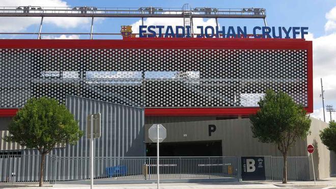 El estadio Johan Cruyff, en Sant Joan Despí.