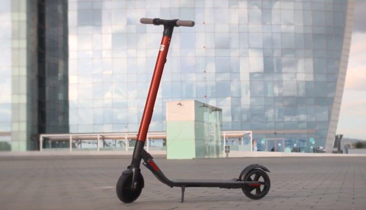 El patinete eléctricode Seat.