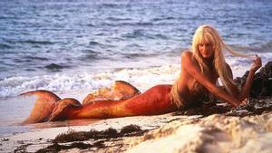 Daryl Hannah, en un fotograma de '1, 2, 3... splash'.