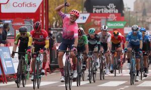 Magnus Cort Nielsen se proclama ganador en Ciudad Rodrigo.