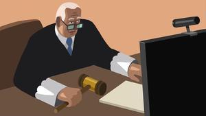 Processos judicials a distància