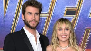 Liam Hemsworth y Miley Cyrus.