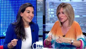 """Susanna Griso replica a Rocío Monasterio (Vox): """"A ningún niño se le prohíbe el español en el patio"""""""